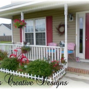 Decorating a Country Cottage Summer Porch