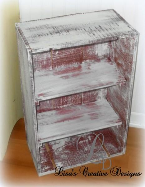 crate medicine cabinet