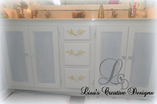 shabby chic bathroom cabinet