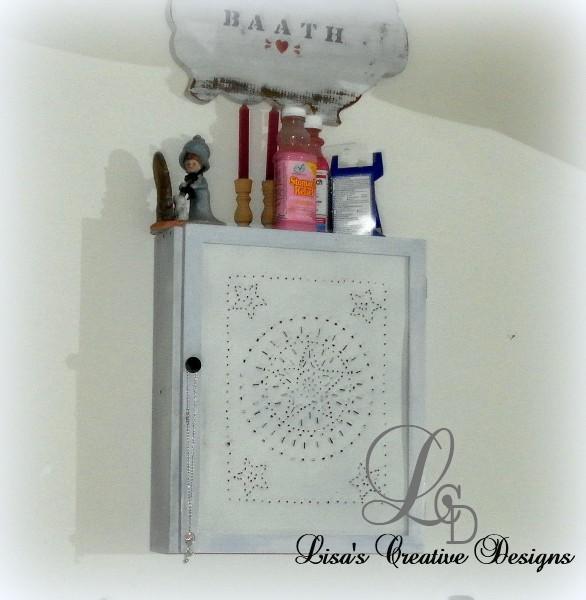 Primitive Medicine Cabinet
