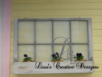 Upcycled Window Box