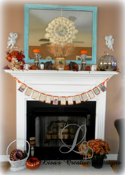 Decorating For Thanksgiving A Home Tour Lisa 39 S