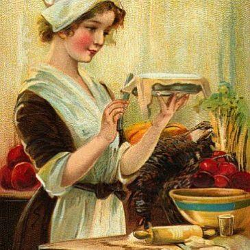 Vintage Thanksgiving Printables