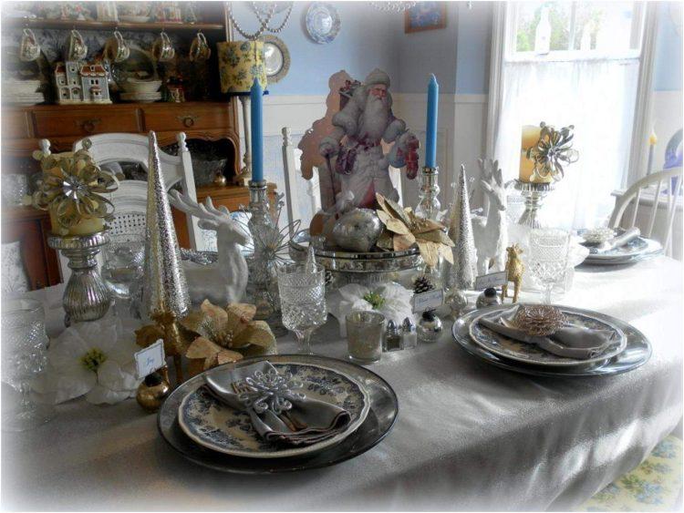 An Elegant Christmas Tablescape Lisa 39 S Creative Designs