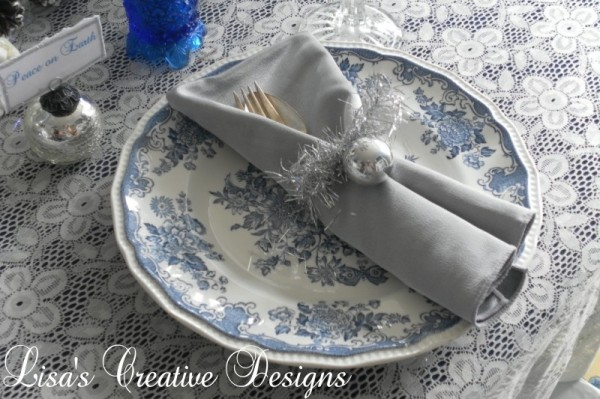 Simple Christmas Napkin Rings