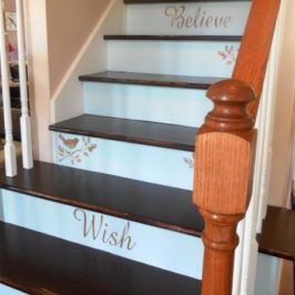 DIY Carpeted Staircase Makeover