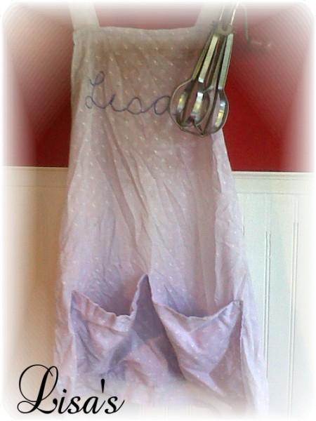 handmade apron