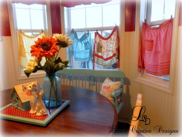 How To Display A Vintage Apron Collection