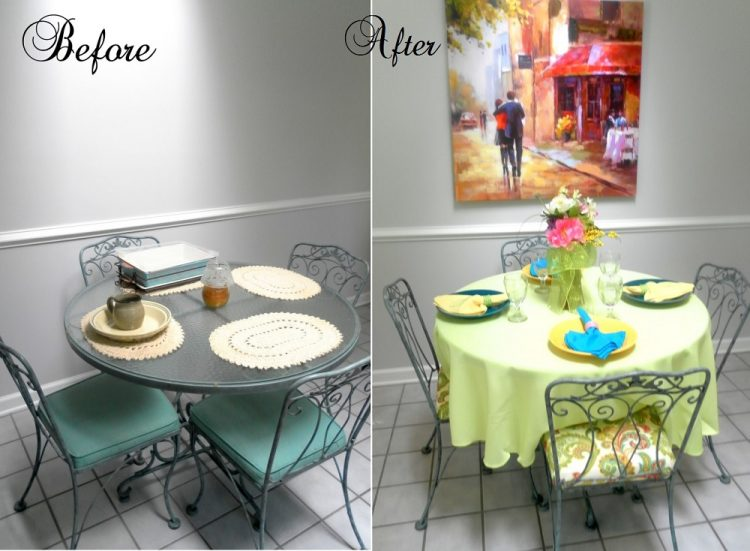 Before and after furniture makeovers by lisa 39 s creative for Our house designs furniture