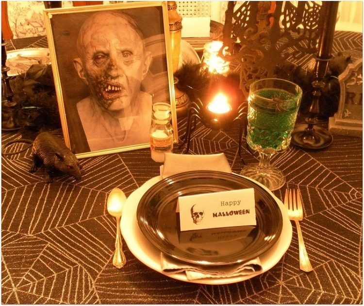 How To Decorate For A Halloween Dinner Party Lisa S Creative Designs