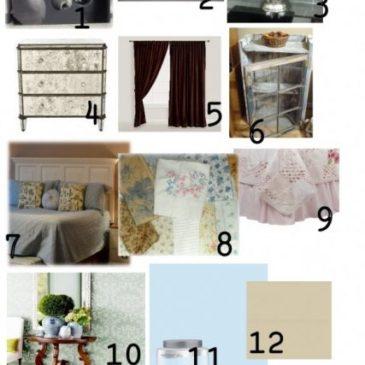 Decorating Inspiration…A Master Bedroom Mood Board