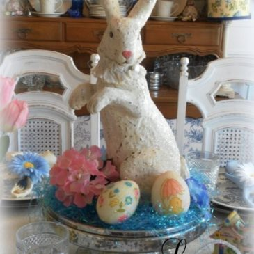 Decorating For Spring…A Pretty Easter Tablescape