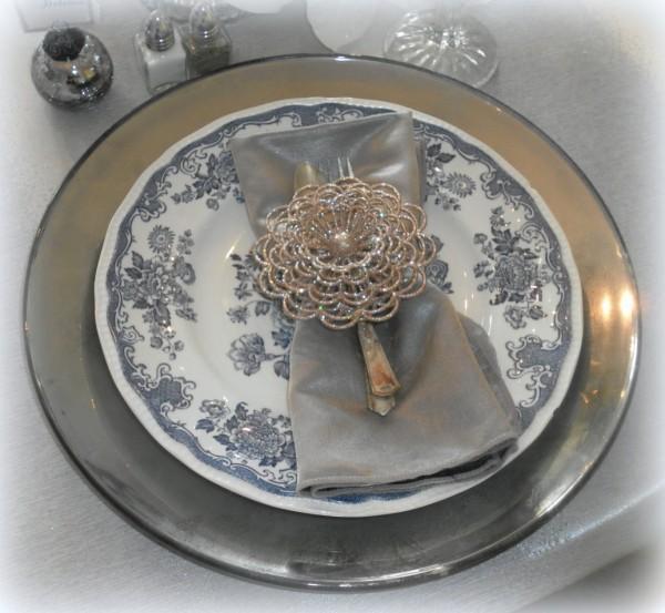 mercury glass plate