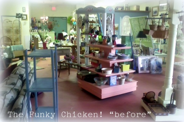 the funky chicken before