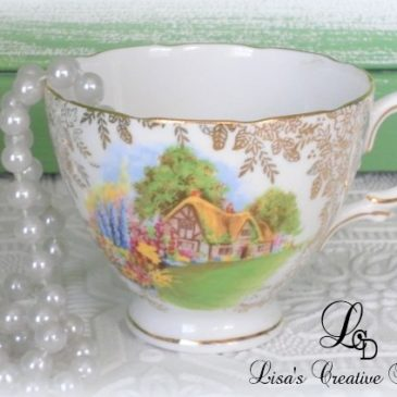 Crafting With Vintage Tea Cups For Mother's Day