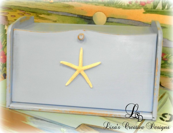 beach inspired breadbox