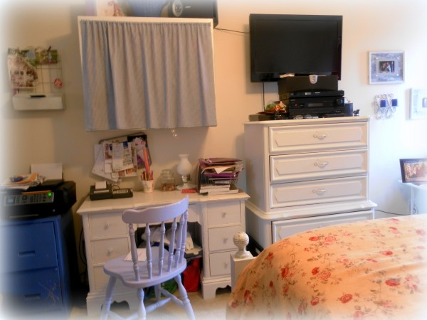Home Office Nook BEFORE