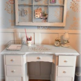 An Upcycled Home Office