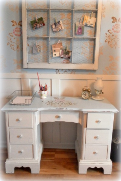 Shabby Chic Home Office Nook