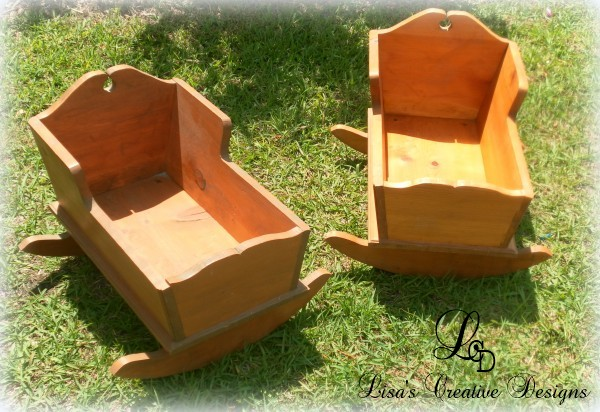 Vintage Doll Cradles