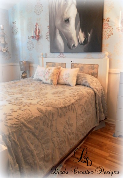 vintage door bed