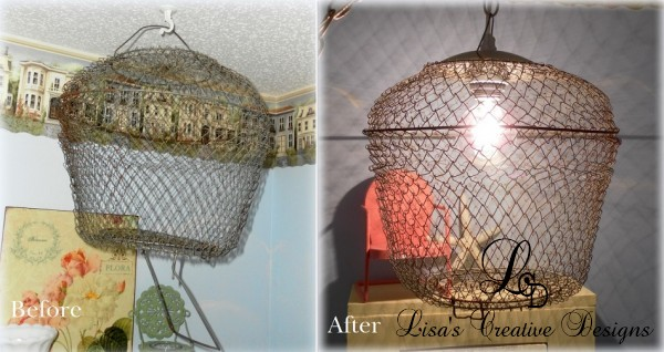 before and after bait cage pendant light before and after