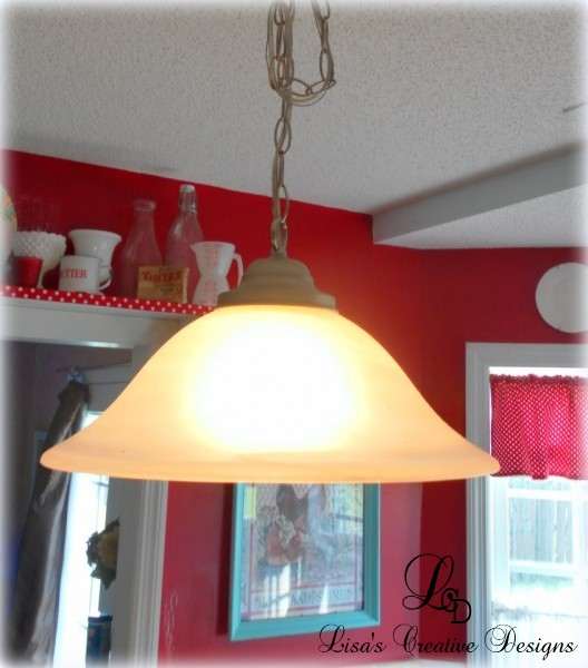 ugly kitchen pendant light