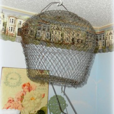 Creative Lighting Project: An Upcycled Bait Basket Pendant Light
