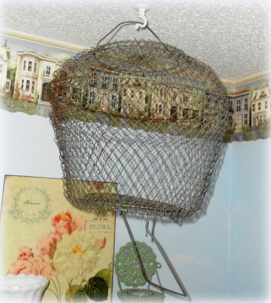 vintage bait cage