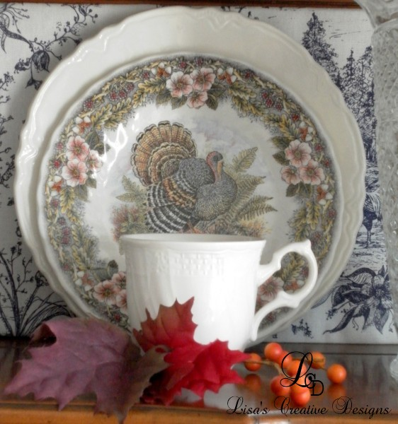 Thanksgiving Transferware
