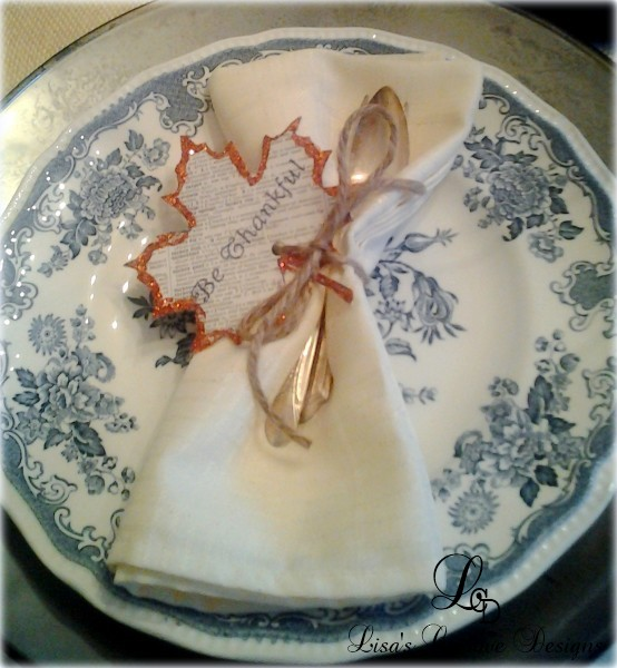 Thanksgiving Leaf Napkin Holders