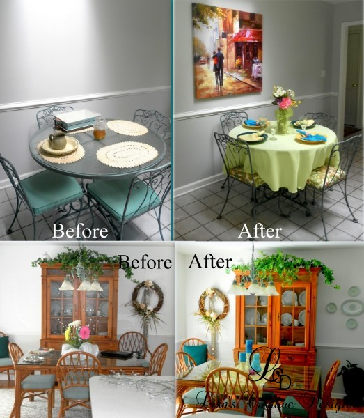 Simple Decorating: Adding Color To A Kitchen And Dining Room