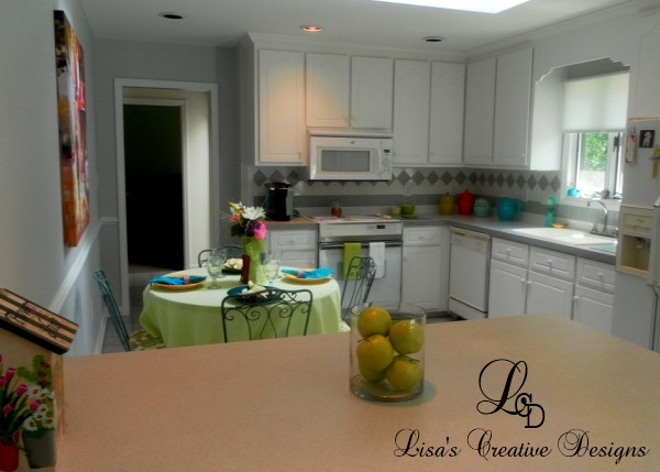 adding Color To a Kitchen