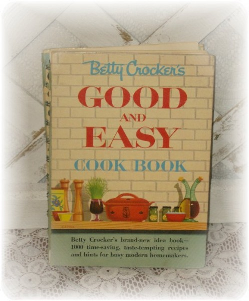 Vintage Betty Crocker's Good and Easy Cook Book