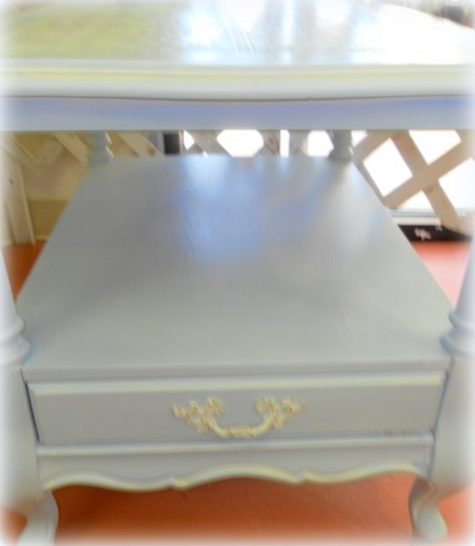 Shabby Chic Table Makeover