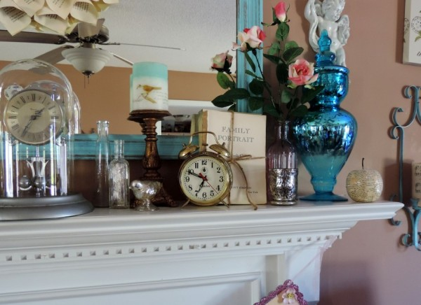 Spring Mantel By Lisas Creative Designs