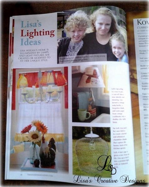 Treasures Magazine Featured Article