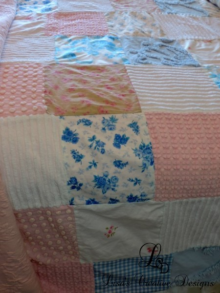 Shabby Chic Patchwork Coverlet