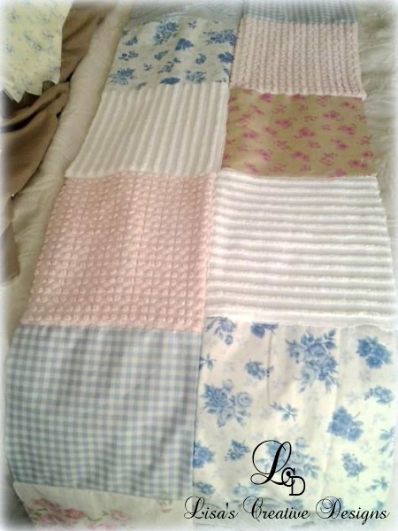 crafting a coverlet