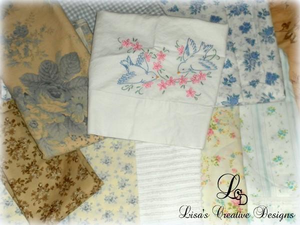 Vintage Shabby Chic Fabrics