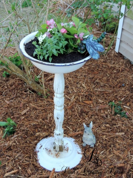 upcycled garden planter