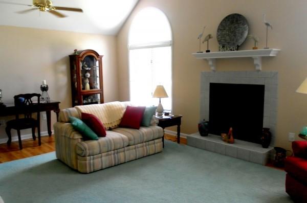 Plain, Dull Living Room