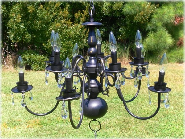 large-upcycled-painted-black-chandelier-1-600x452