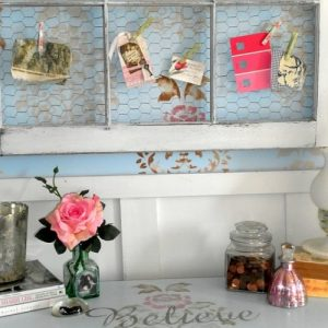 Shabby Chic Office Nook