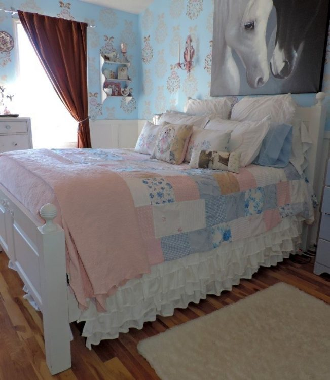 Shabby Chic Master Bedroom: Creatively Decorated Bedrooms By Lisa's Creative Designs