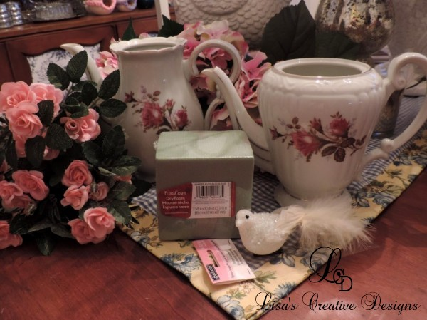 Upcycling Vintage China Teapots