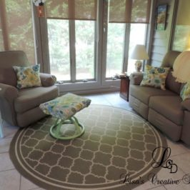 Before and After: A Cozy Sunroom Makeover