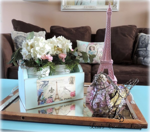 Creative French Country Vignette