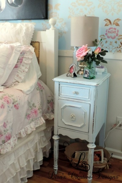 Upcycled Vanity Nightstands