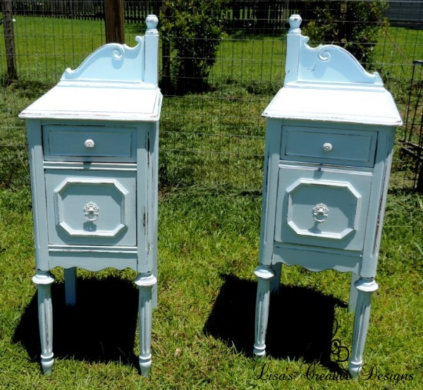 Antique Vanity Night Stands